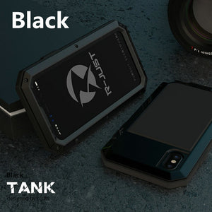 Heavy Duty Protection Doom armor Metal Aluminum phone Case for iPhone.
