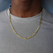 Load image into Gallery viewer, Classic Figaro Chain Necklace.