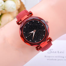 Load image into Gallery viewer, Casual Starry Sky Quartz Watch.
