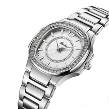 Load image into Gallery viewer, Geneva Diamond Quartz Watch.