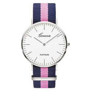 Nylon Fashion Quartz Watch.