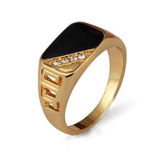 Load image into Gallery viewer, Rhinestone Men Ring.