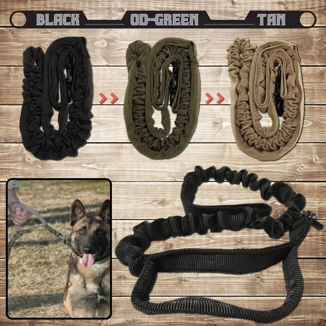 Tactical Dog Lead, For Your K9 Cops (Deliver to Police Dept)