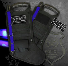 Load image into Gallery viewer, Pre-Filled Police Christmas Stocking
