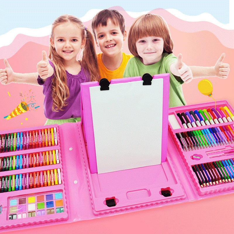 pencil Drawing Tools Set KindergartePainting Crayon  Toy for Kids