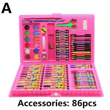 Pencil Drawing Tools Set Kindergarten Painting Crayon  Toy for Kids