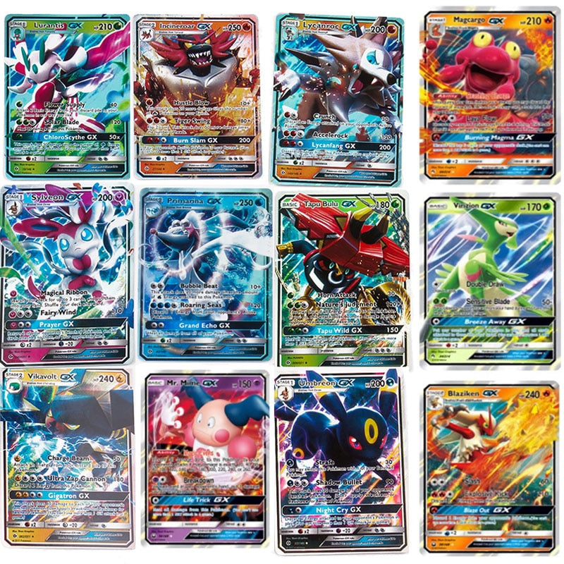Pokemoning TAKARA TOMY Cards Game Battle Carte Trading Children Toy