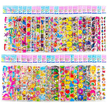 20 Sheets Stickers for Kids Different Stickers Cartoon Princess Toys