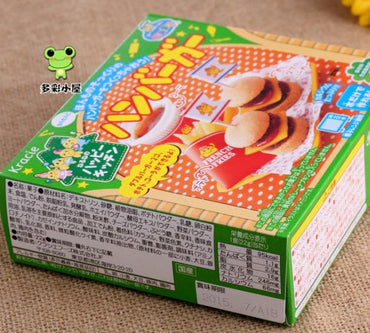 Kids Cook candy dough Toy Hamburger Japanese food candy making kit
