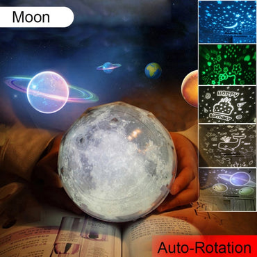 Starry Sky Night Light Planet  Projector toys for kids