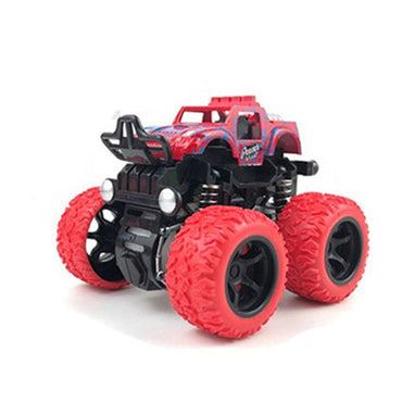 Mini Inertial Off-Road Vehicle Pullback Children Toy Car Plastic