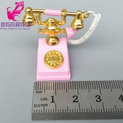 mini mobile laptop phone notebook for doll Retro phone toys for kids