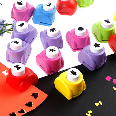 Funny Seal Mini Printing Paper Flower Cutter Art Craft Toy for kids