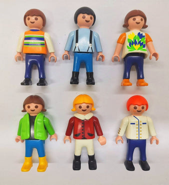6PCS Playmobil Geobra people loose Figure P1T