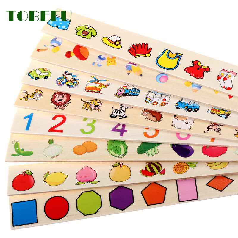 Mathematical Knowledge Classification Cognitive Matching toys for kids