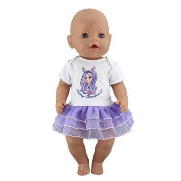 New Sport Dress Doll Clothes Fit 17 inch 43cm Doll toys for kids.