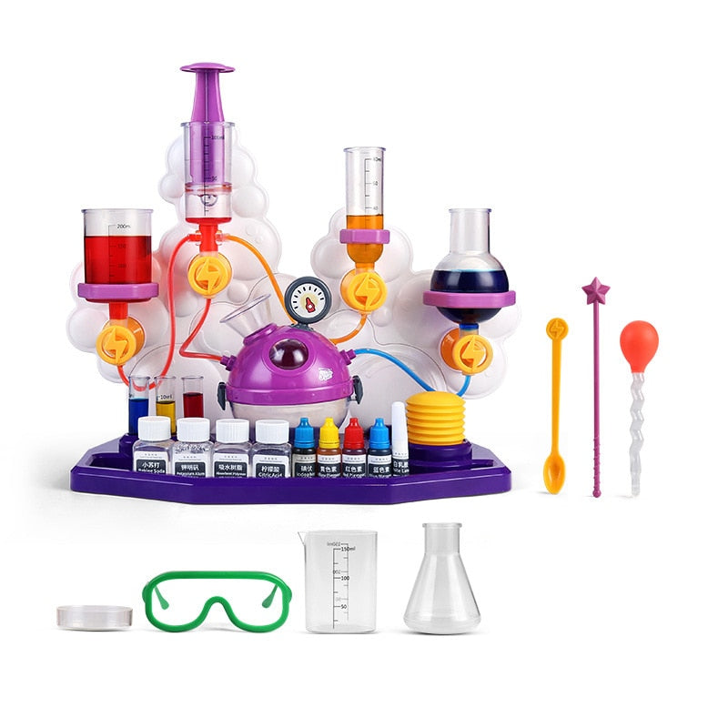 Kids Science Laboratory Teaching Aids Chemical Tools  Funny Toy