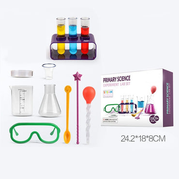 Science Laboratory Teaching Aid Kit For Children Chemical Tools Toys