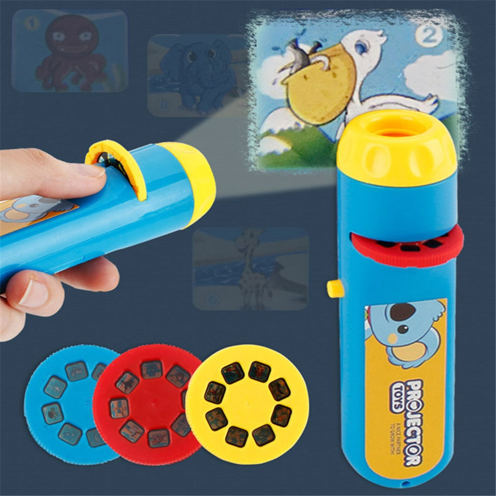 Camera Portable Flashlight Projection toys for kids