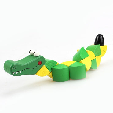 Baby Children Fingers Flexible Training Science Twisting Worm Toy