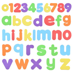 Kids Alphanumeric Letter Puzzle Bath Toys Early Educational Suction