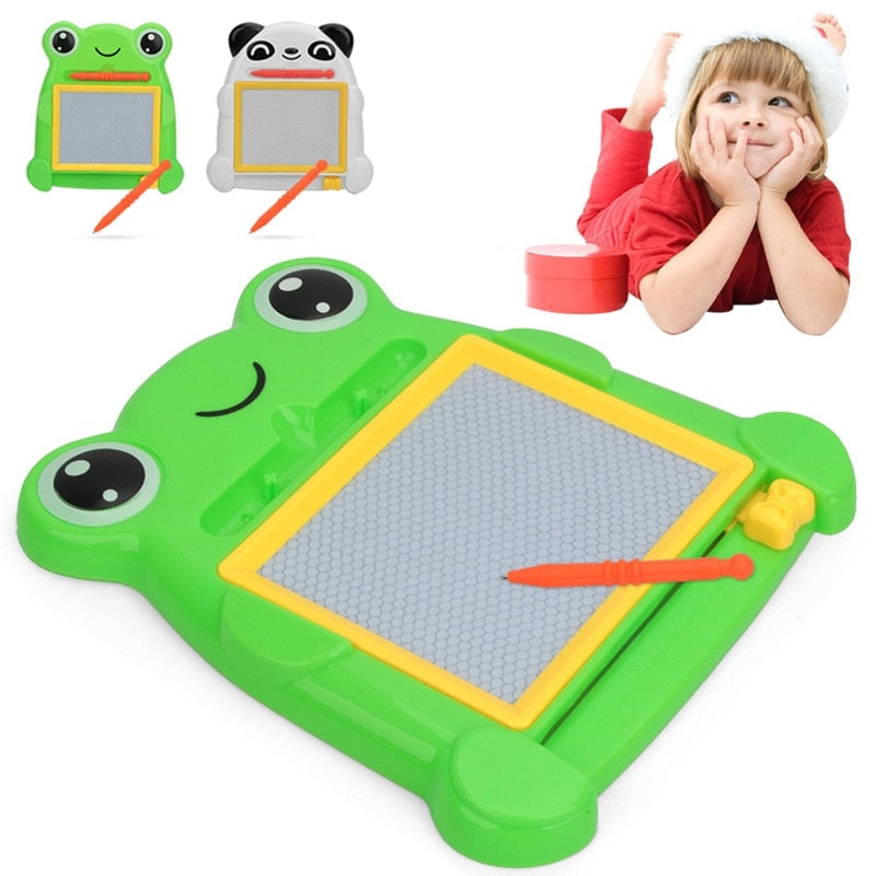 Cartoon Magnetic Drawing Board Sketch Pad toys for kids