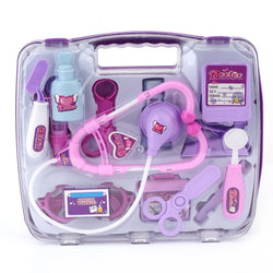 Christmas Kids Educational Pretend Doctor Case Toy Set Medical Kit
