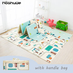 Foldable Baby Play Mat Puzzle Educational Carpet Kids Activity GameToy