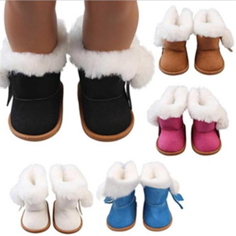 Fit 18 inch 40-43cm Born Baby Doll Shoes Accessories toys for kids