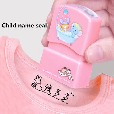 Custom Made Baby Naam Stempel Diy Kinderen Naam Seal toys for kids