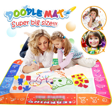 Magic Water Drawing Coloring Book Pen Painting Board toys For Kids