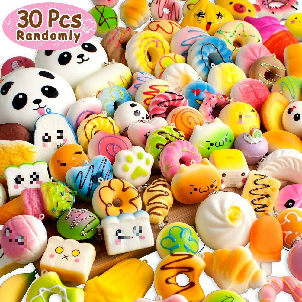 Kawaii Squishy Food Slow Rising Bread Cake Donut Animal Toy For Kids