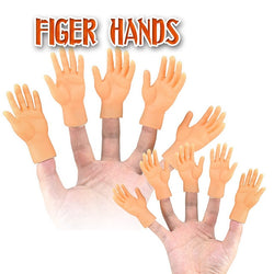 2/10 pcs/set Screepy Halloween Mini Finger Hands  Left Right kids toys