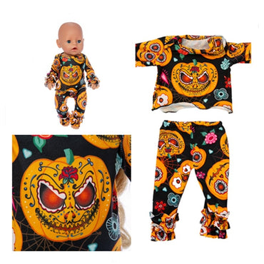 Doll Clothes New Born Black Yellow Clothes Accessories toy for kids