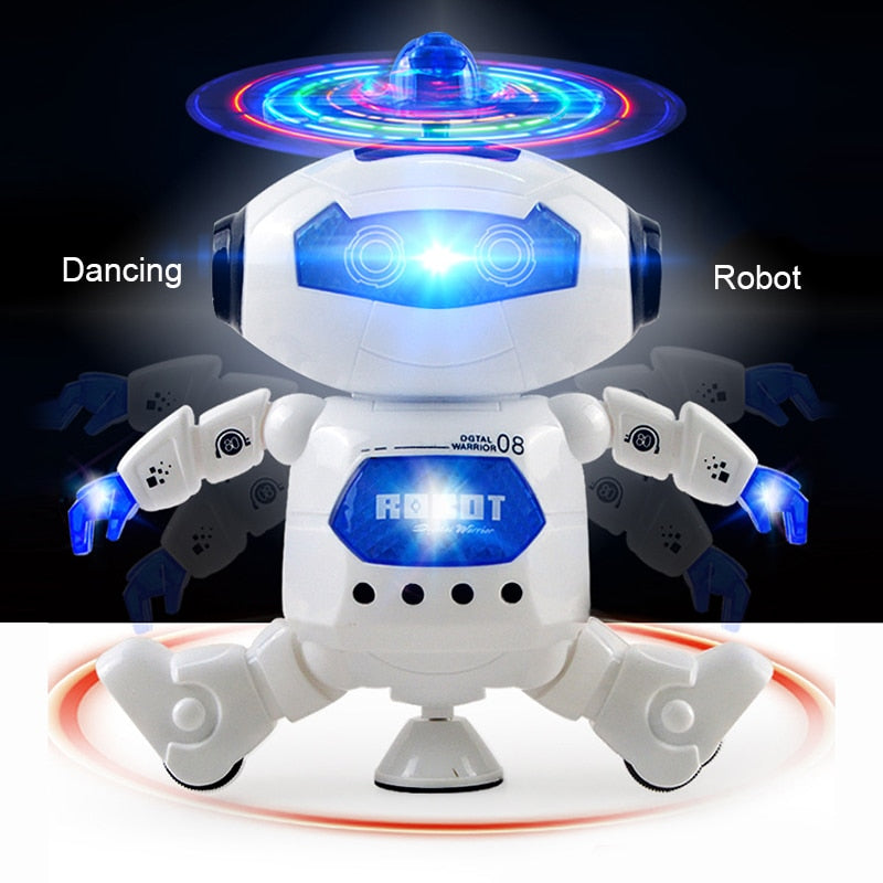 Toys Robot Kids Toddler Robot Toy Singing Dancing Talking Smart Robot