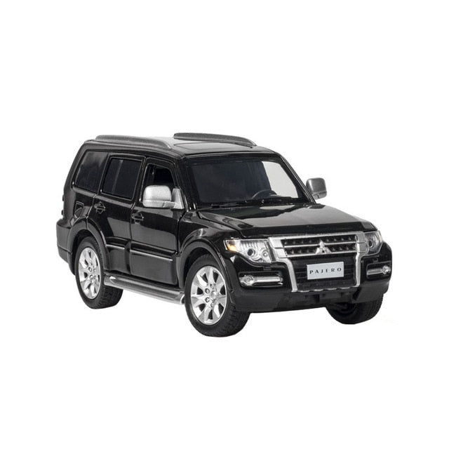 MITSUBISHII PAJERO Car die Cast alloy edition collectibles Kids toy