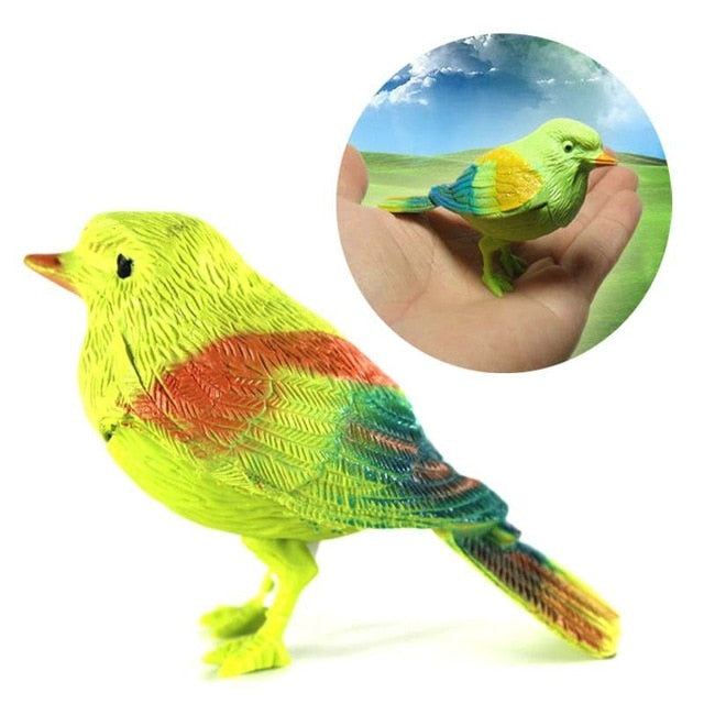 Bird Singing Voice Sound Control Talking Parrot Playing Toy for kids