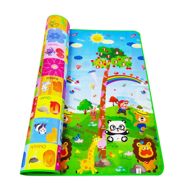 Rubber Foam Mat with 4 Puzzles Foam Playmat Toys For Children