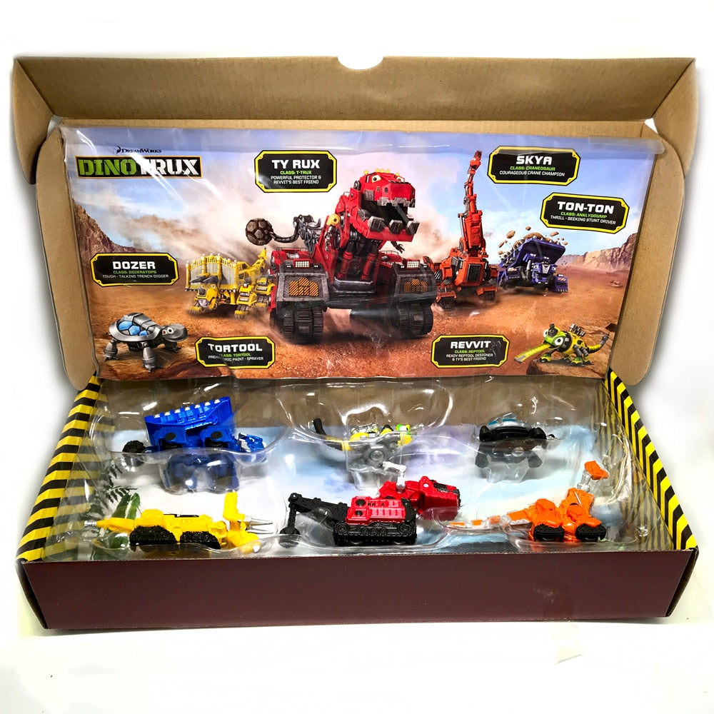Dinotrux Truck Removable Dinosaur Toy Car for children