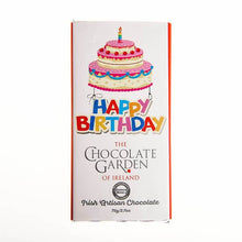 Load image into Gallery viewer, Happy Birthday Chocolate Bar-Chocolate Gifts Ireland-Chocolate Gifts Delivered-Chocolate Boxes Ireland