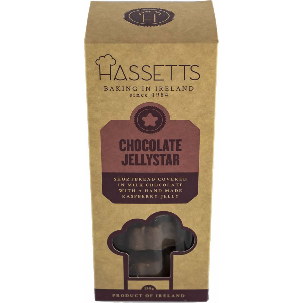 Hassetts Chocolate Jellystar Cookies-Irish Cookies-Irish Cookies Delivered-Irish Cookies Gift