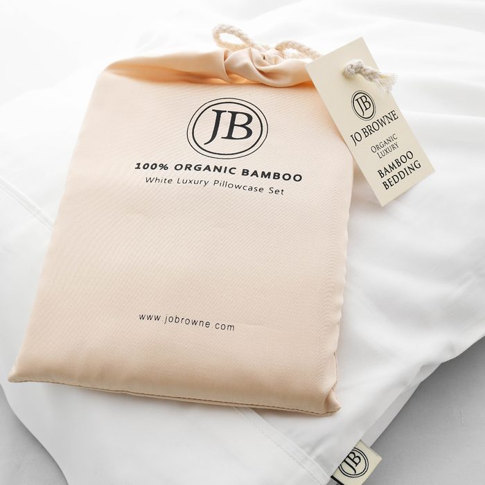Jo Browne Luxury Bamboo Pillowcase Set-Jo Browne Pillowcase Ireland