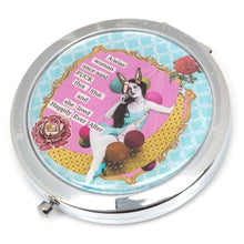 Load image into Gallery viewer, Vintage Double Compact Mirror.  Beautiful Gifts Delivered.  Irish Gift Ideas