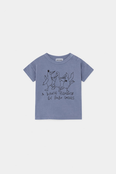 bobo choses ss20 A Dance Romance Dancing Birds T-shirt vêtements clothing bébé baby 12000001
