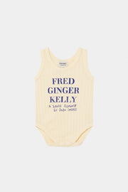 bobo choses ss20 A Dance Romance Fred, Ginger, Kelly sleeveless body vêtements clothing bébé baby 12000025