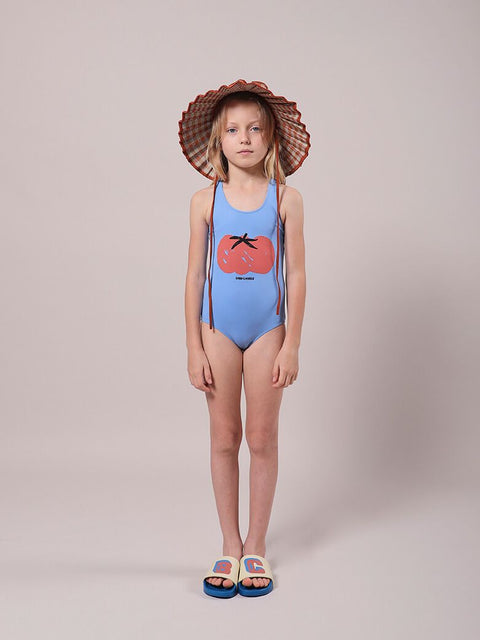 bobo choses ss21 tomato swimsuit