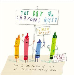The Day The Crayons Quit Drew Daywalt book