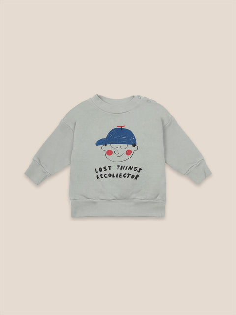 bobo choses aw20 the catalogue of marvellous trades boy sweatshirt chandail coton ouaté boy 22000104 baby bébé