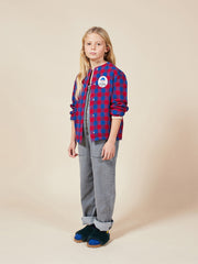 bobo choses aw20 the catalogue of marvellous trades tartan overshirt chemise de bûcheron 22001058