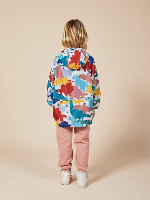 bobo choses aw20 the catalogue of marvellous trades dinos all over raincoat imperméable dinosaures 22001138